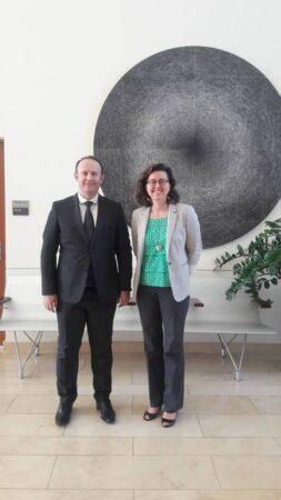 Kryetari Afrim Gashi takoi u.d. Ambasadore e SHBA-ve, Micaela Schweitzer-Bluhm
