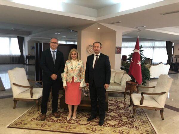 Afrim Gashi takoi Ambasadoren e Turqisë