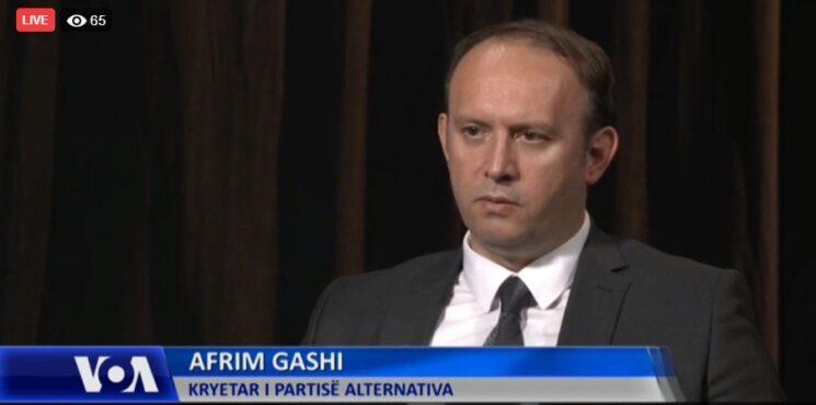 Intervista e kryetarit Afrim Gashi për Zërin e Amerikës (VoA)