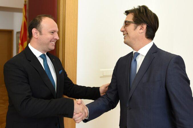 Kryetari Afrim Gashi e takoi presidentin Pendarovski