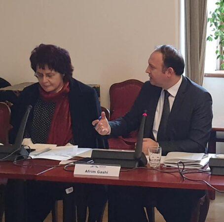 Afrim Gashi pjesëmarrës në seminarin regjional të organizuar nga NDI në Pragë