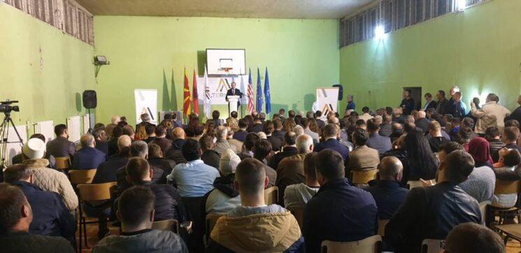 AlternAtivA sonte me tubim madhështor në Tetovë