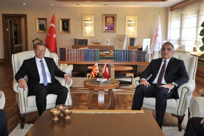 Ministri Hysni Ismaili e takoi ministrin e Kulturës të R. së Turqisë