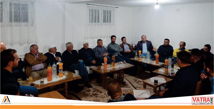 """"""" Vatra jonë"""" e Alternativës vazhdoi takimet me qytetarët në Kumanovë"""
