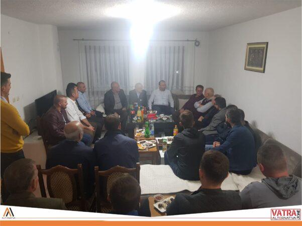 """""""Vatra jonë"""" e Alternativës sonte në takim me banorët e lagjes """" Drenovec"""" të Tetovës"""