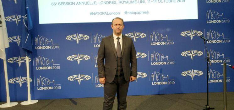 Afrim Gashi – politikani i vetëm shqiptar në Asamblenë Parlamentare të NATO-s në Londër