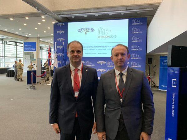 Kryetari Afrim Gashi takohet me nënkryetarin e Parlamentit të Malit të Zi, Genci Nimanbegu.