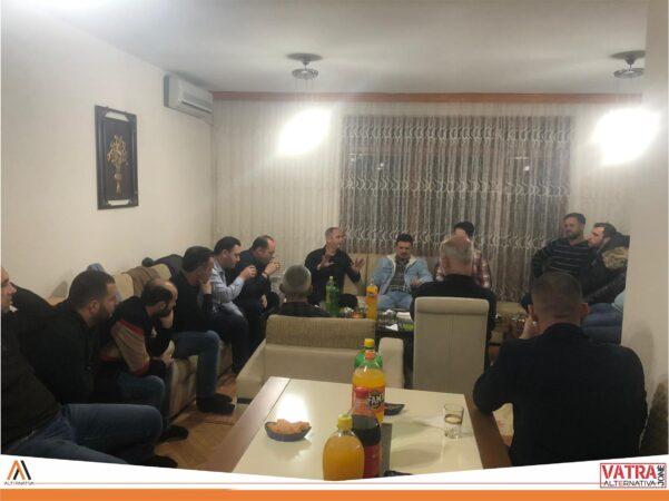 """""""Vatra jonë"""" e Alternativës mbrëmë realizoi takim me banorët e Dizhonit të Çairit"""