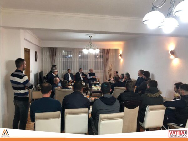 """""""Vatra jonë"""" e Alternativës sonte realizoi takim me banorët e Hasanbegut"""