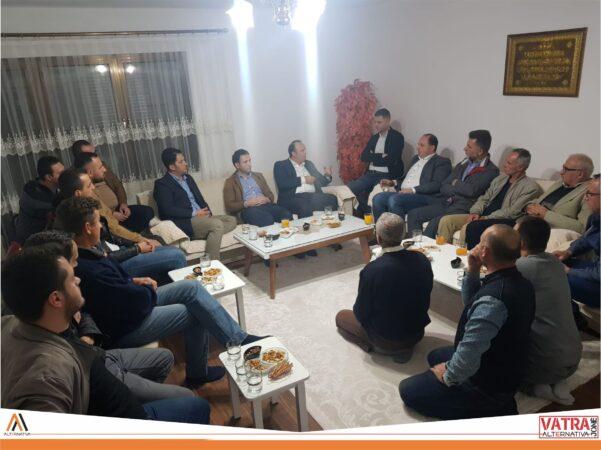 """""""Vatra jonë"""" e Alternativës sonte realizoi takim me banorët e Hasanbegut të Shkupit"""