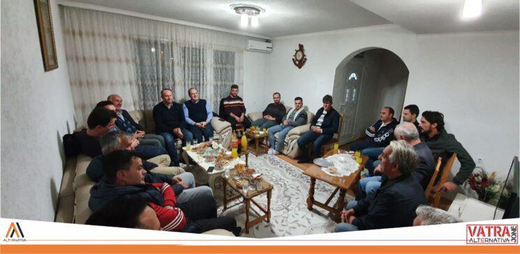 """""""Vatra jonë"""" e Alternativës sonte realizoi takim me banorët e Sarajit"""