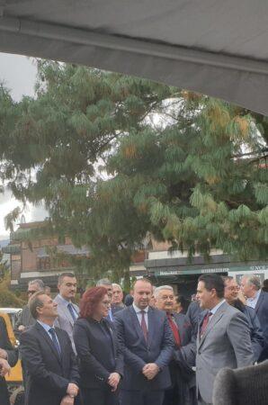 Afrim Gashi merr pjesë në hapjen e Konsullatës së Nderit të Shqipërisë në Manastir