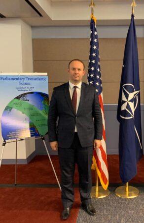 Afrim Gashi pjesëmarrës në Forumin Transatlantik të NATO-s në Uashington