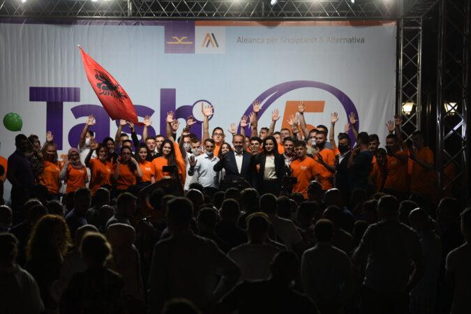 Koalicioni Aleanca për Shqiptarët & AlternAtivA: Këto ishin 100 ditë ditët më të vështira në historinë e vendit – patjetër të krijohet qeveri e zgjeruar