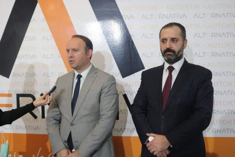 """Afrim Gashi u takua me kryetarin e Lidhjes së Shoqatave Joqeveritare Turke në Maqedoni """"Matusiteb"""", z. Husrev Emin"""