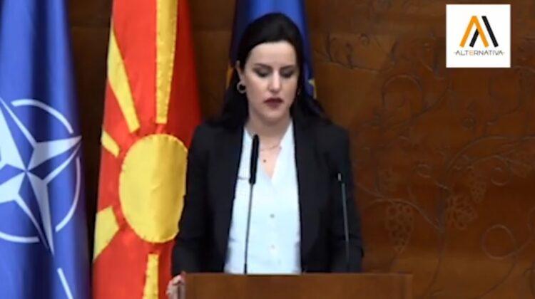 (+VIDEO) Fjalimi i plotë i deputetes së AlternAtivA-s, Safije Sadiki - Shaini në Parlament, në lidhje me diskutimet mbi Avokatin e Popullit