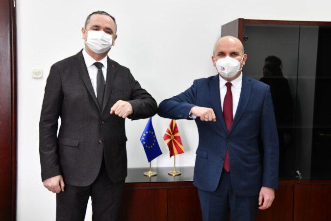 Koordinatori i GP të koalicionit AAA - ASH, Skender Rexhepi - Zejdi, realizoi takim me Eurodeputetin, Ilhan Kuçuk
