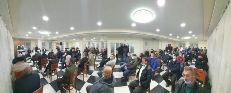 Faton Selami u zgjodh kryetar i Alternativës në degën e Tetovës