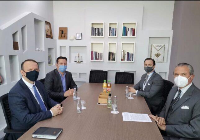 Afrim Gashi u takua me Shefin e Misionit të OSBE-së në Shkup, z. Clemens Koja