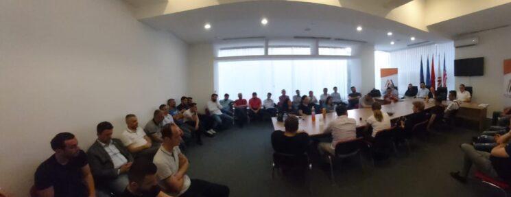 Afrim Gashi realizoi takim me degën e Çairit - Erhan Zuberi kryetar i ri i Degës