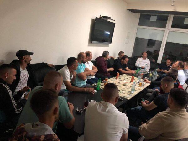 Afrim Gashi sonte realizoi takim me strukturat e degës së Bogovinës