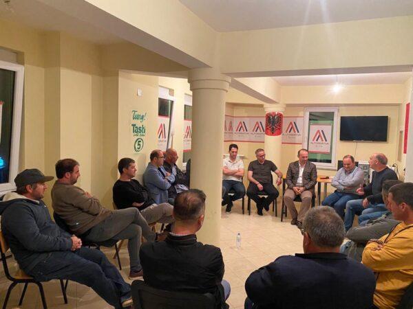 Afrim Gashi mbrëmë realizoi takim me degën e Kërçovës