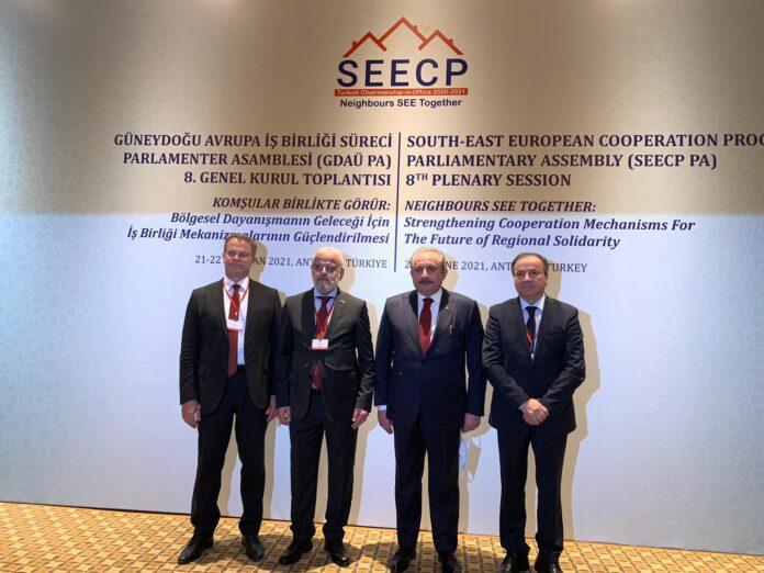 Хисни Исмаили учествува на Осмата пленарна сесија за соработка на Југоисточна Европа (ПС на ПСЈИЕ) што се одржува во Анталија, Р. Турција