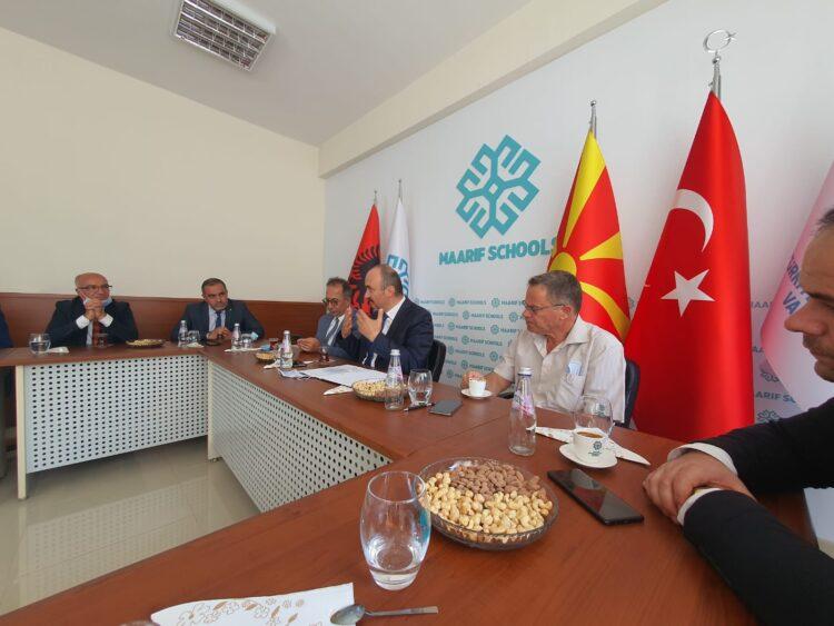 Hysni Ismaili u takua me Guvernatorin e qytetit të Edirnës, z. Ekrem Canalp